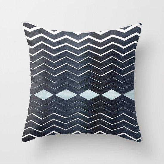 ELEGANT IN BLUE Throw Pillow