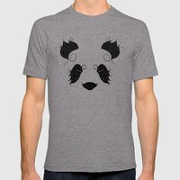 El Panda Mens Fitted Tee Tri-Grey SMALL