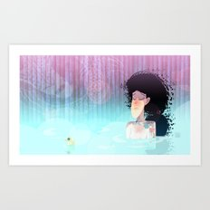 Need to relax Art Print