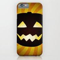 iPhone & iPod Case featuring Vintage Halloween Pumpki… by Natalia Bykova