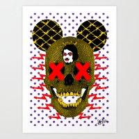 POP DEATH! Art Print