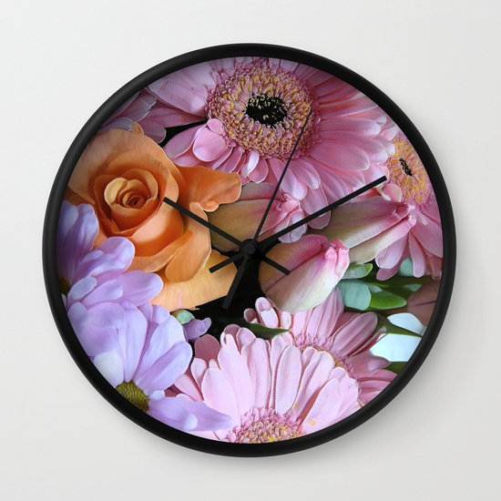 A Pink Mind is a Joy Forever! Wall Clock