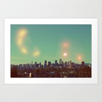 I Dream of Vancouver Art Print