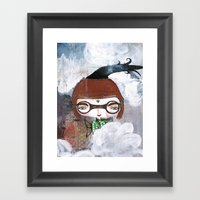 New-View Bhoomie Framed Art Print