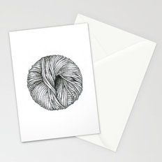 Ball of yarn Stationery Cards