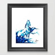 Poseidon  Framed Art Print