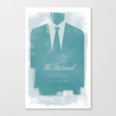 The National - Blue Blazered Canvas Print