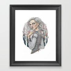 Heather Framed Art Print