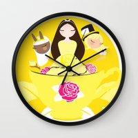 Worldwide Endometriosis Tea Party Wall Clock