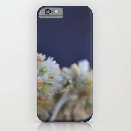 fluffy flower iPhone & iPod Case