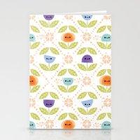 Mod Flowers Stationery Cards