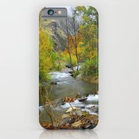 Autumn River At The Moun… iPhone 6 Slim Case