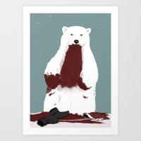 Santa? Art Print
