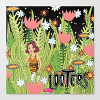 LOOTERS Canvas Print