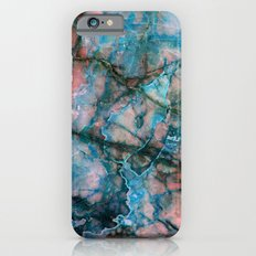 Pink and Blue Marble iPhone 6 Slim Case