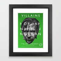 Norman Stansfield Framed Art Print