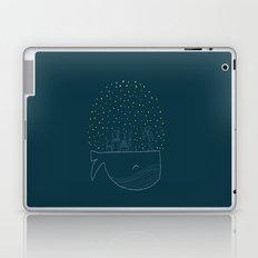 Sky Whale Island Laptop & iPad Skin