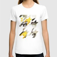 Maze Hound Womens Fitted Tee White SMALL