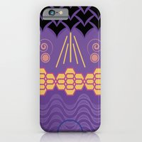 iPhone & iPod Case featuring HARMONY pattern Alt 3 by Daniel Bevis