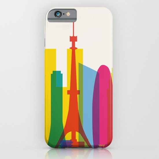 Shapes of Tokyo. Accurate to scale. iPhone & iPod Case