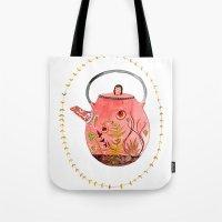 Teapot Terrarium Tote Bag