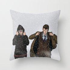 TIME BROS - Doctor Who Throw Pillow