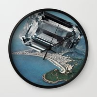 Costa Del Diamante Wall Clock