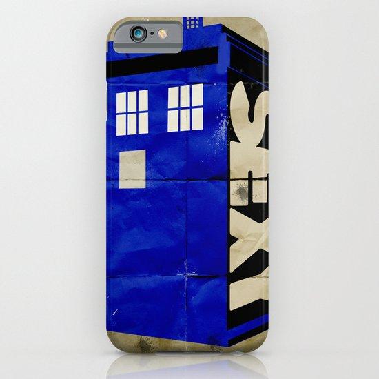 Minimalist Doctor Who  - SEXY TARDIS iPhone & iPod Case
