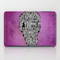 Typography Narrator iPad Case