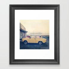 wee car Framed Art Print