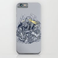 iPhone & iPod Case featuring Zombie Exterminator by Alex Solis