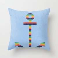 Set Sail No.2 Throw Pillow