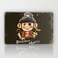 Dangerous Monkey! Laptop & iPad Skin