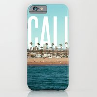iPhone Cases featuring CALI by thecrazythewzrd