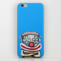 Clown With Small Adverti… iPhone & iPod Skin