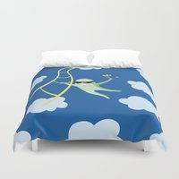 Always Cool Fly With The Wind Duvet Cover