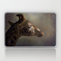 Portrait Of A Giraffe Laptop & iPad Skin