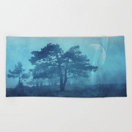 Beach Towel - Mystic tree - Art4U