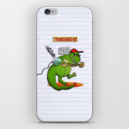 Jurassic Rock iPhone & iPod Skin
