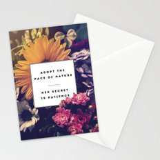The Pace Of Nature Stationery Cards