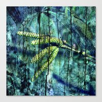ARCHAIC BLUE DREAM Canvas Print