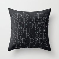 Macbeth Throw Pillow