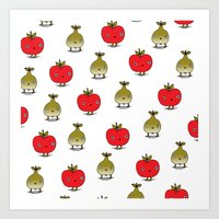 Apples and Pears Art Print
