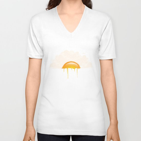 Breakfast V-neck T-shirt