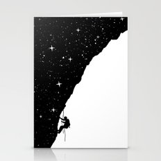 night climbing Stationery Cards
