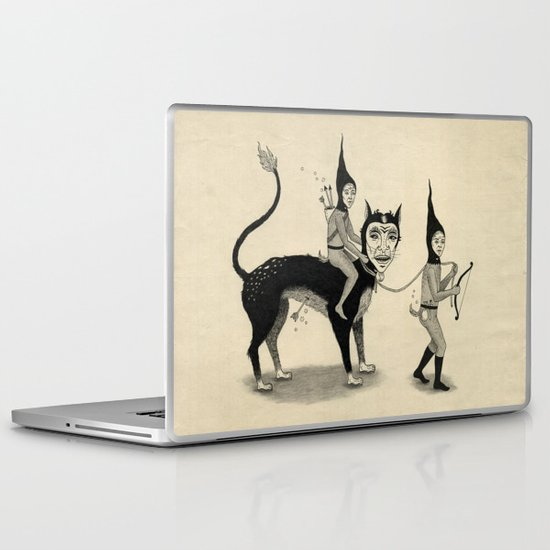 The Capture of the Beast Laptop & iPad Skin