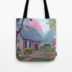 Essex House Cottage by Ave Hurley Tote Bag