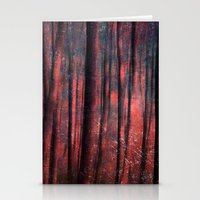 magic trees Stationery Cards