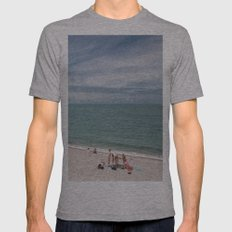 Etretat Mens Fitted Tee Athletic Grey SMALL