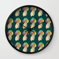 ICE CRAIN Wall Clock